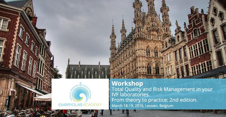 «Gestion de la qualité et des risques dans les laboratoires de Fécondation In Vitro»