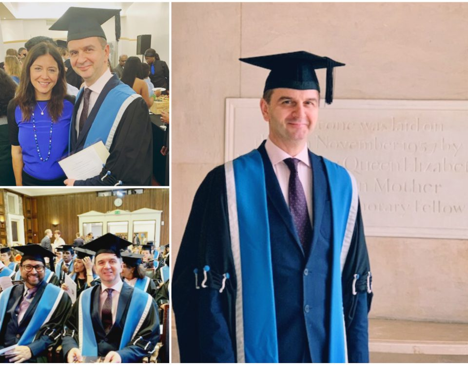 ο Νίκος Χριστοφορίδης αναγορεύτηκε Fellow του Βασιλικού Κολλεγίου (FRCOG)