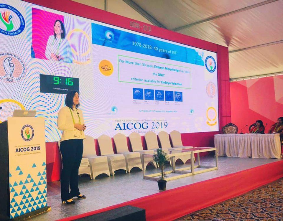 Alexia Chatziparasidou at AICOG 2019
