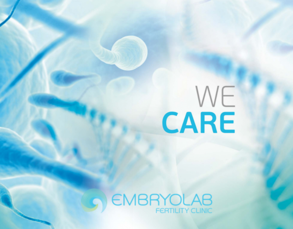 embryolab we care poster