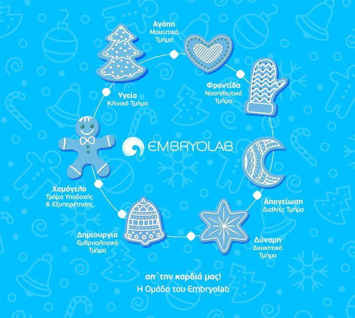 Embryolab Christmas Card
